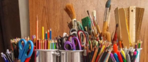 image of a art supplies
